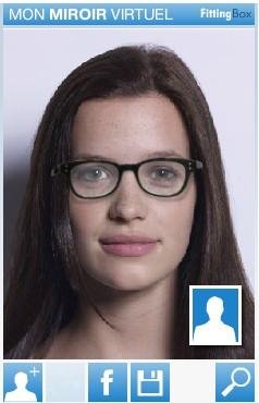 Miss blog quelles lunettes pour quelle forme de visage for Miroir virtuel krys