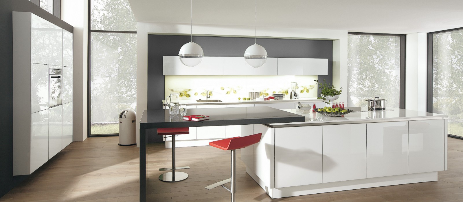 Miss blog cuisine design cuisine am nag e cuisine tendance for Cuisines contemporaines design
