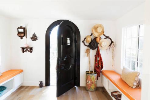 Une porte d'entrée originale pour donner du style à l'entrée