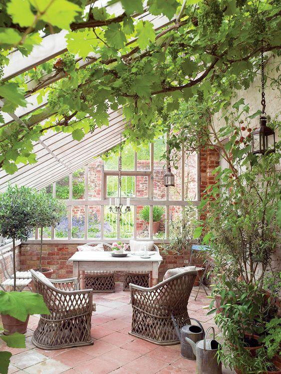 Une véranda au style provençal pour de la chaleur toute l'année