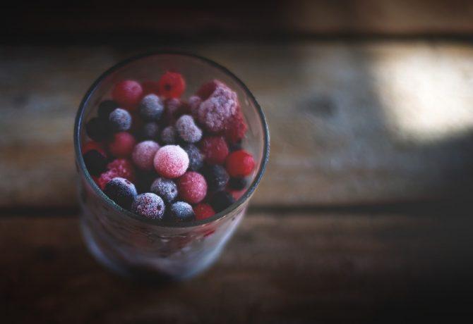 fruits rouges et baies surgelés