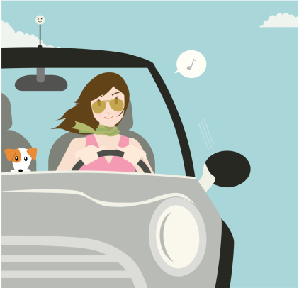 illustration-conductrice-voiture