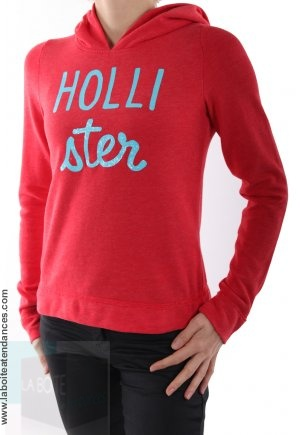 hoodie-sweat-a-capuche-hollister-by-abercrombie-rouge-