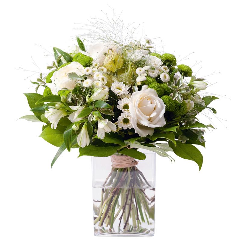bouquet fleur confidence