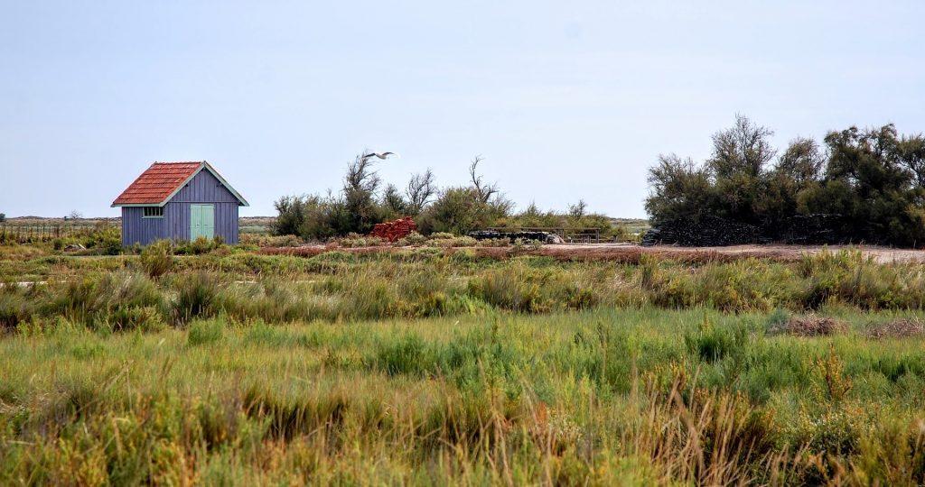Une cabane de pêcheur sur l'île d'Oléron